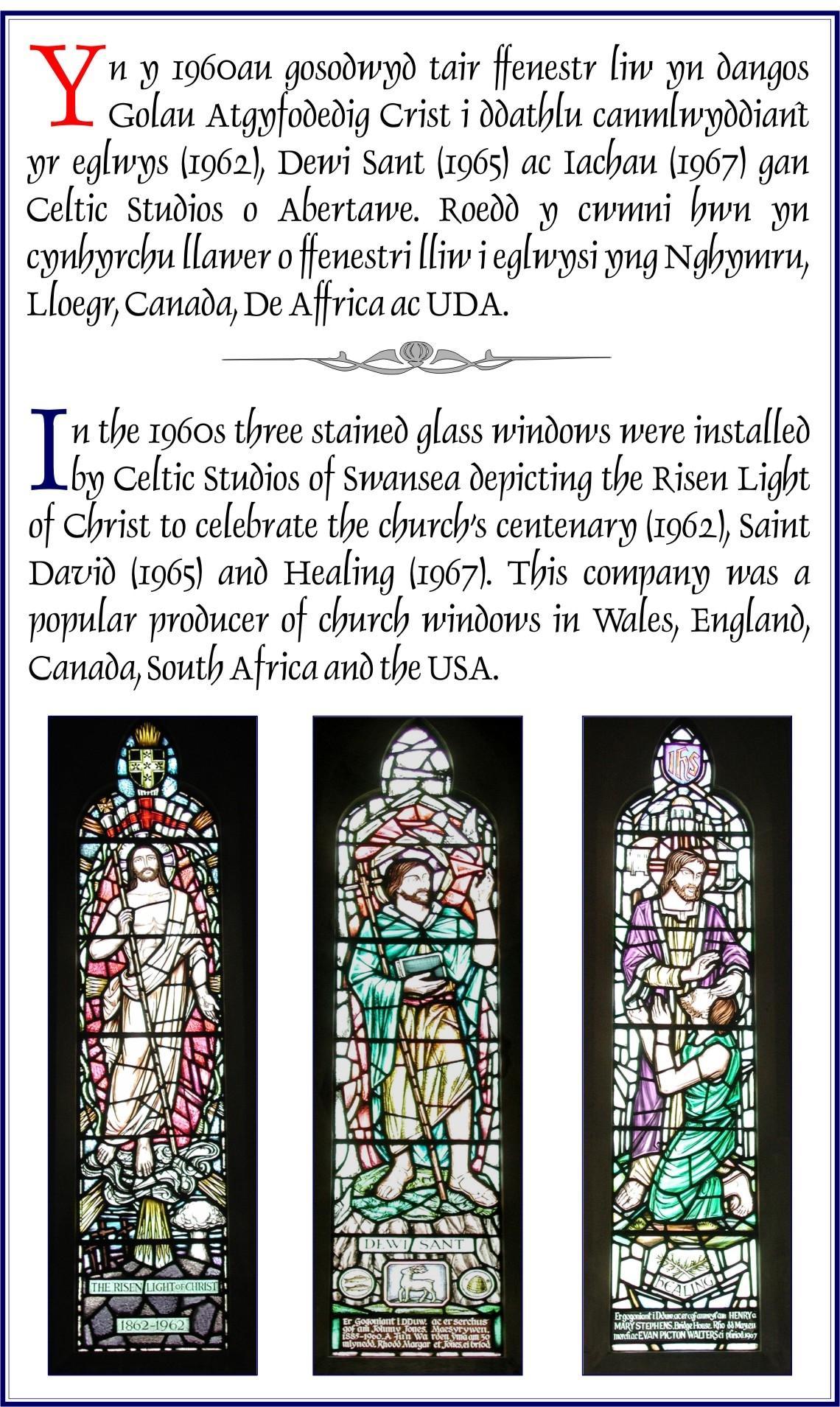 The Risen Light of Christ, St David and Healing