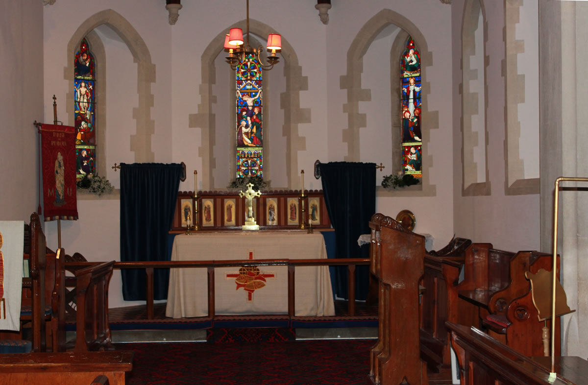 St Barnabas Church - the alter